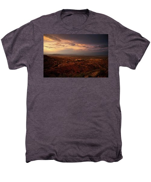 Monsoon Storm Afterglow Men's Premium T-Shirt