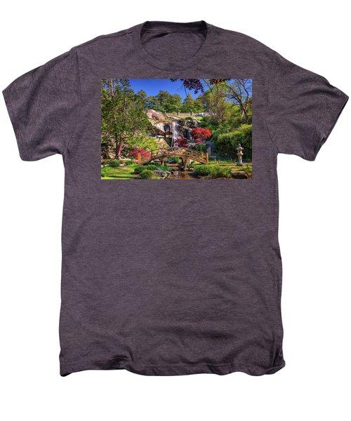 Moon Bridge And Maymont Falls Men's Premium T-Shirt