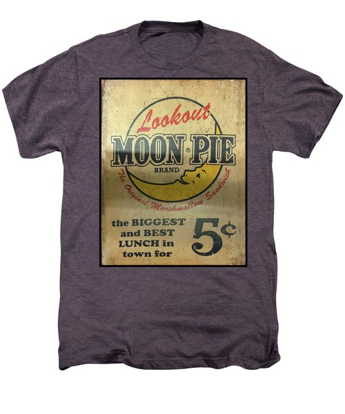 Moon Pie Antique Sign Men's Premium T-Shirt