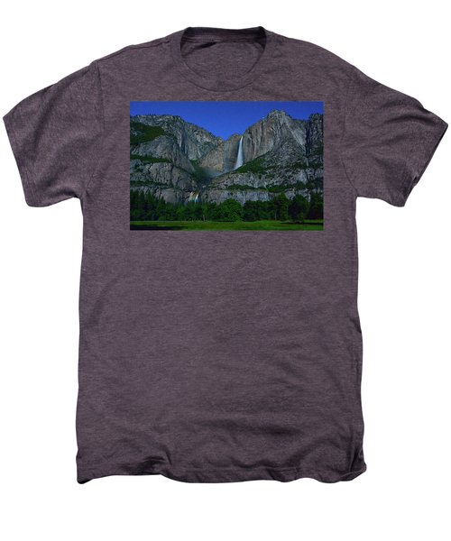 Moonbow Yosemite Falls Men's Premium T-Shirt