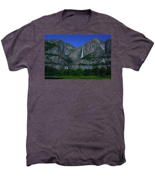 Moonbow Yosemite Falls Men's Premium T-Shirt