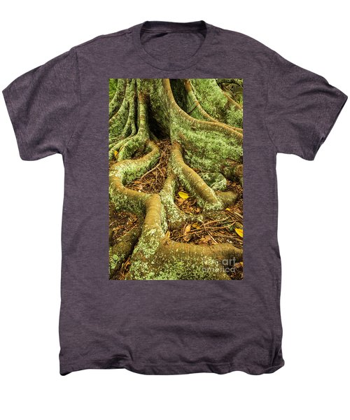 Men's Premium T-Shirt featuring the photograph Moreton Bay Fig by Werner Padarin