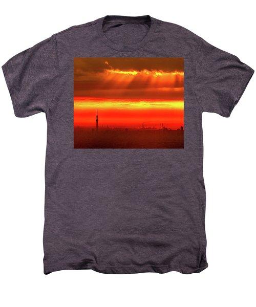Morning Glow Men's Premium T-Shirt by Tatsuya Atarashi
