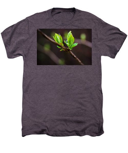 New Growth In The Rain Men's Premium T-Shirt