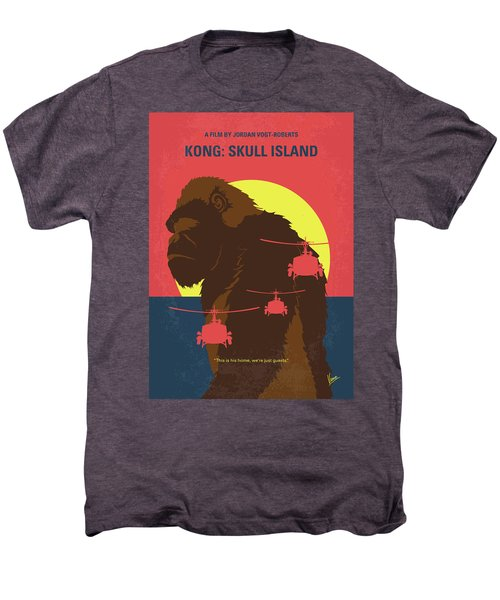 No799 My Skull Island Minimal Movie Poster Men's Premium T-Shirt