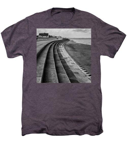 North Beach, Heacham, Norfolk, England Men's Premium T-Shirt