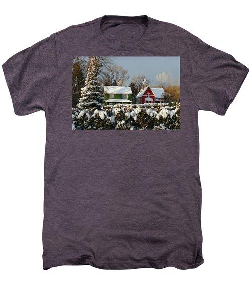 October Snow Men's Premium T-Shirt
