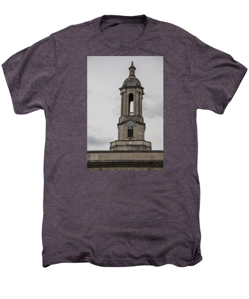 Old Main From Front Clock Men's Premium T-Shirt by John McGraw