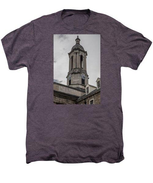 Old Main Penn State Clock  Men's Premium T-Shirt by John McGraw