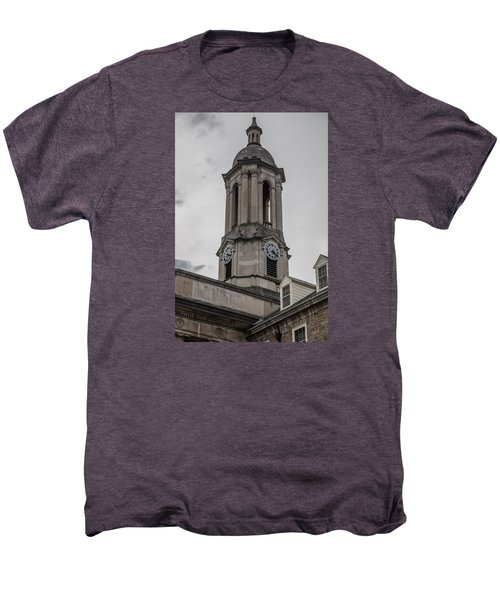 Old Main Penn State Clock  Men's Premium T-Shirt