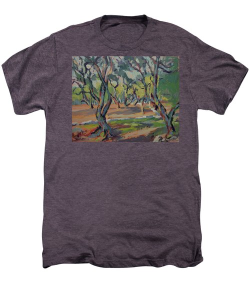 Olive Yard Paxos Greece Men's Premium T-Shirt