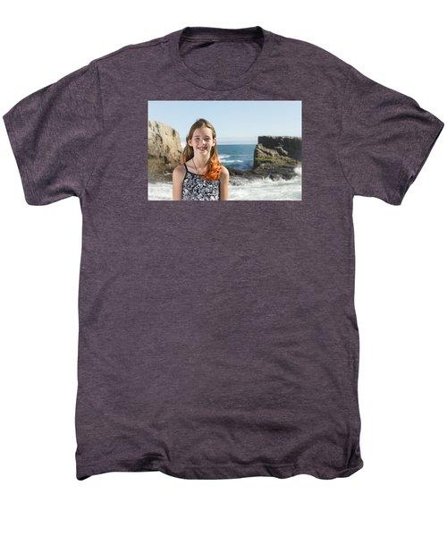 Olivia Men's Premium T-Shirt by Alex Lapidus