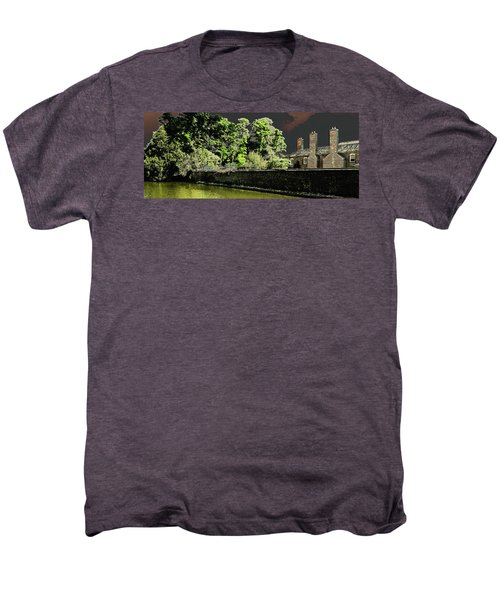 Men's Premium T-Shirt featuring the photograph On Golden Pond by Bill Swartwout Fine Art Photography