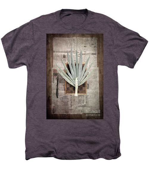 Men's Premium T-Shirt featuring the photograph Onion by Linda Lees
