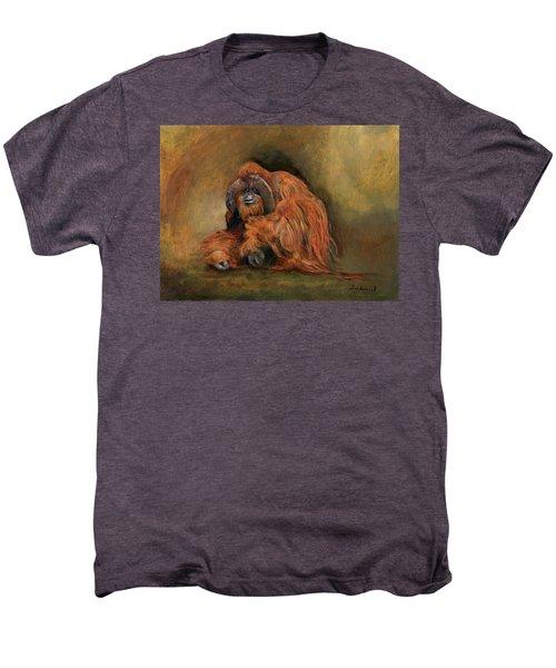Orangutan Monkey Men's Premium T-Shirt