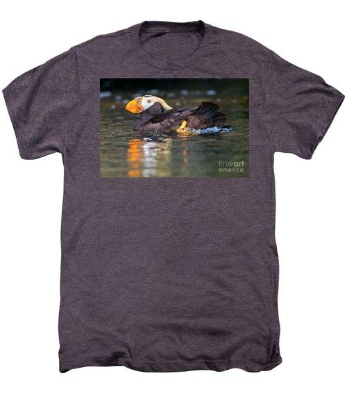 Paddling Puffin Men's Premium T-Shirt