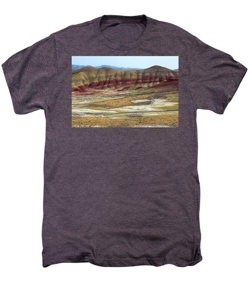 Painted Hills View From Overlook Men's Premium T-Shirt