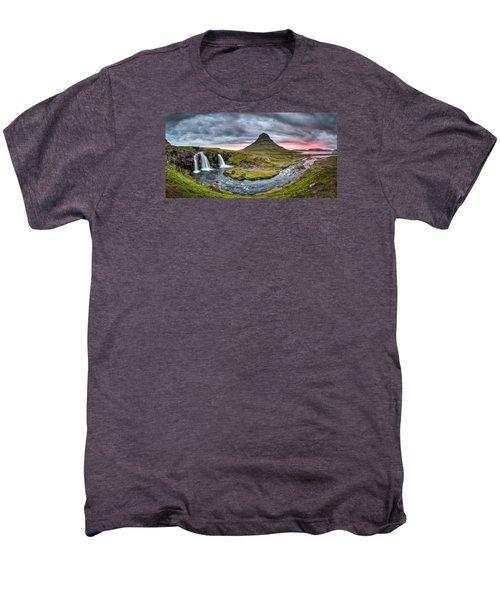 Paradise Found - Panorama Men's Premium T-Shirt