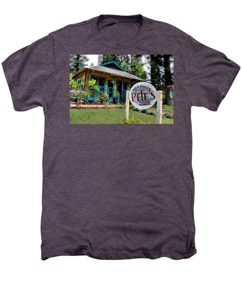 Pele's Lanai Style Men's Premium T-Shirt by DJ Florek