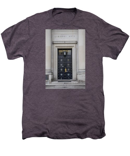 Penn State University Liberal Arts Door  Men's Premium T-Shirt by John McGraw