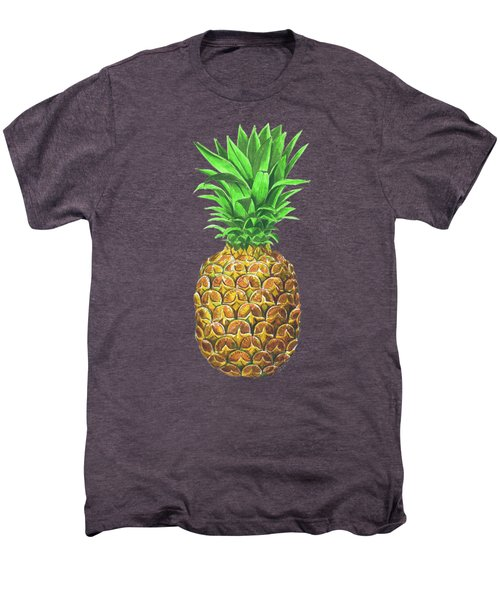 Pineapple, Tropical Fruit Men's Premium T-Shirt