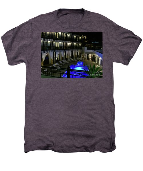 Poolside At The Pearl Men's Premium T-Shirt by Megan Cohen