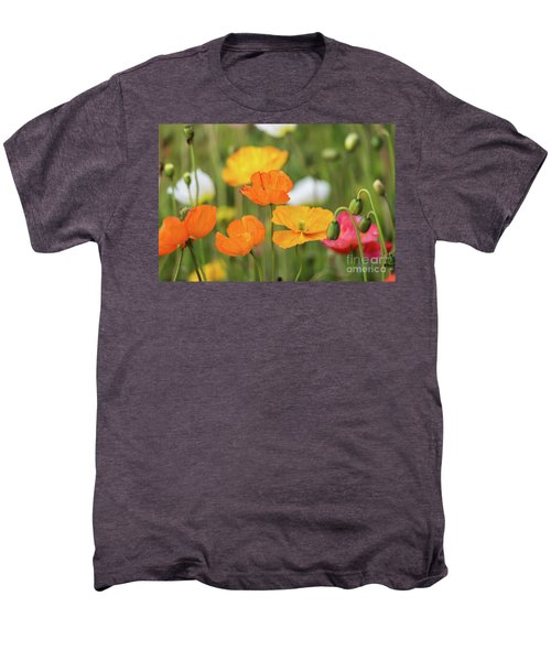Men's Premium T-Shirt featuring the photograph  Poppies 1 by Werner Padarin