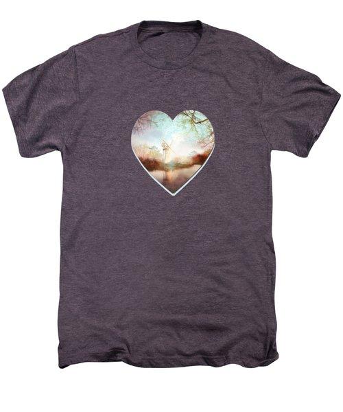 Porcelain Skies Men's Premium T-Shirt by Valerie Anne Kelly