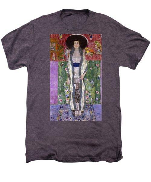 Portrait Of Adele Bloch-bauer II Men's Premium T-Shirt by Gustav Klimt
