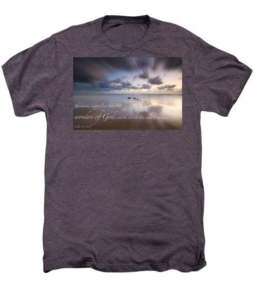 Psalm 19 1 Men's Premium T-Shirt