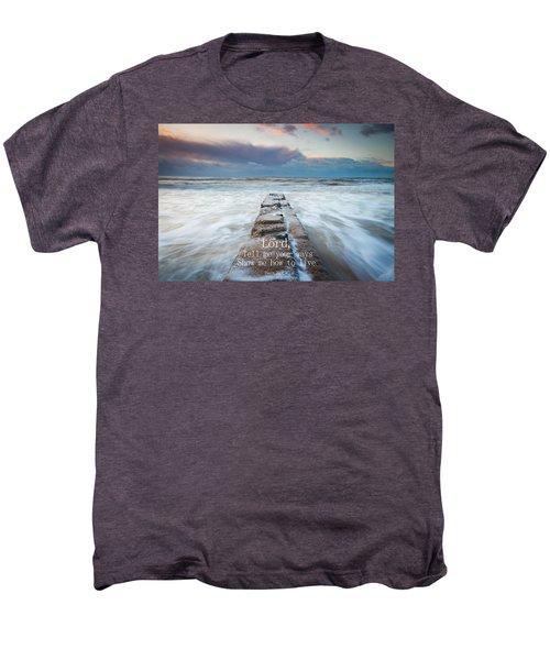 Psalm 25 4 Men's Premium T-Shirt