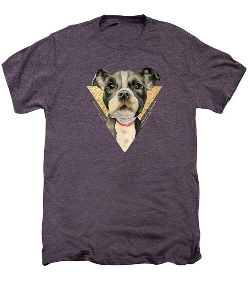 Puppy Eyes 3 Men's Premium T-Shirt
