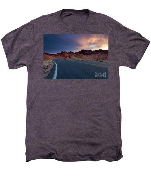 Red Desert Highway Men's Premium T-Shirt