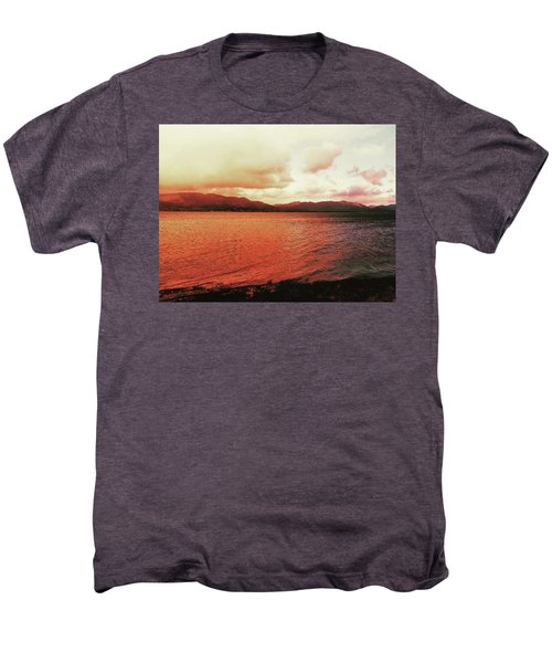 Red Sky After Storms  Men's Premium T-Shirt