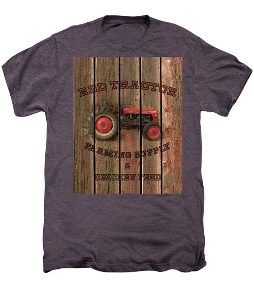 Red Tractor Farming Supply Men's Premium T-Shirt