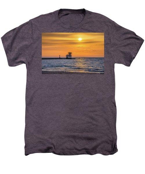 Men's Premium T-Shirt featuring the photograph Rehabilitation Rising by Bill Pevlor