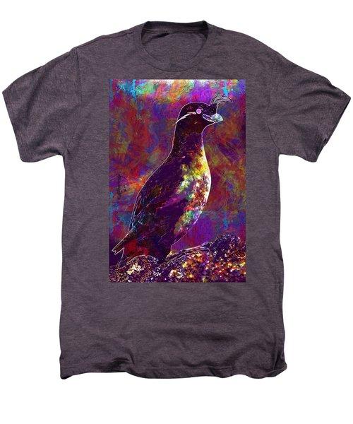 Rock Bird Auklet Crested Birds  Men's Premium T-Shirt