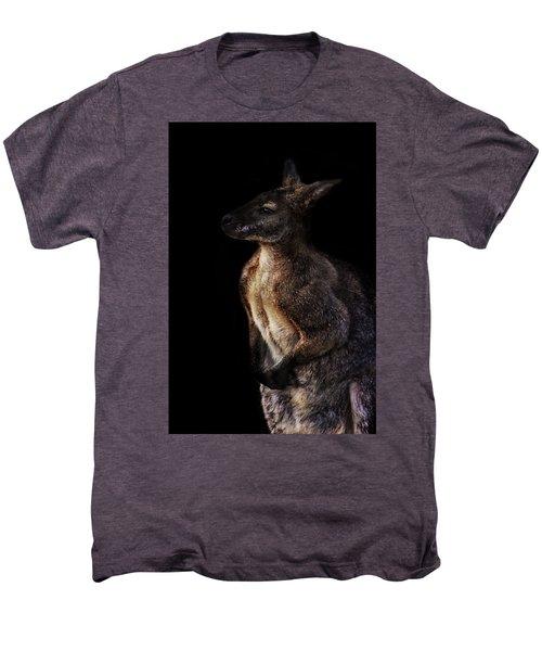 Roo Men's Premium T-Shirt by Martin Newman