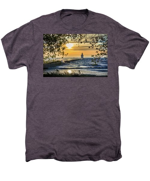 Men's Premium T-Shirt featuring the photograph Rough Opening by Bill Pevlor