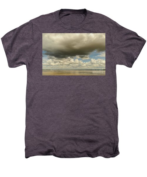 Men's Premium T-Shirt featuring the photograph Sailing The Irrawaddy by Werner Padarin