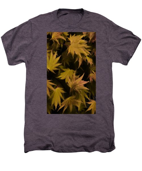 Japanese Autumn  Men's Premium T-Shirt by Mike Nellums