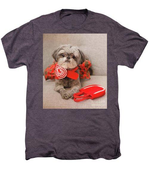 Scarlett And Red Purse Men's Premium T-Shirt