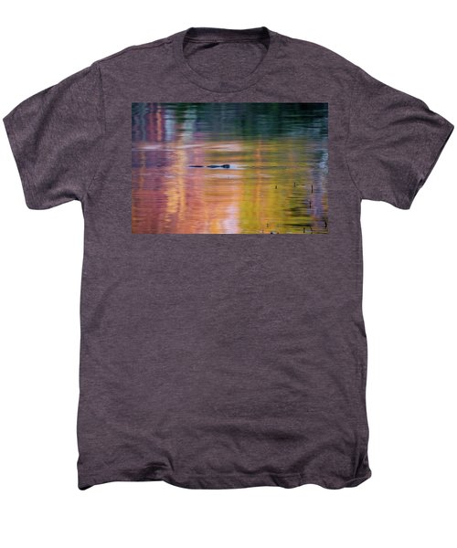 Men's Premium T-Shirt featuring the photograph Sea Of Color by Bill Wakeley