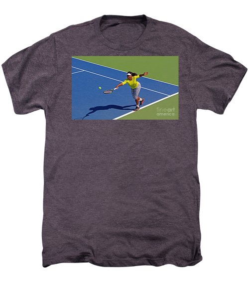 Serena Williams 1 Men's Premium T-Shirt by Nishanth Gopinathan