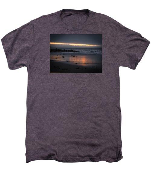 Men's Premium T-Shirt featuring the photograph Shining Sand by Lora Lee Chapman