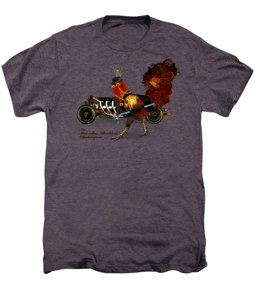 Sir Marcellus Thaddeus Cluckington Men's Premium T-Shirt by Iowan Stone-Flowers