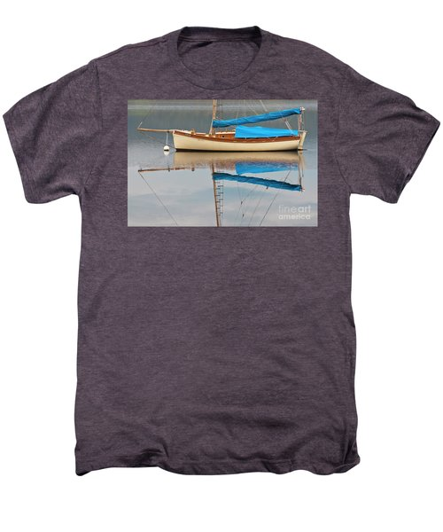 Men's Premium T-Shirt featuring the photograph Smooth Sailing by Werner Padarin