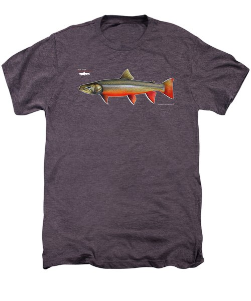 Spawning Bull Trout And Kokanee Salmon Men's Premium T-Shirt by Nick Laferriere