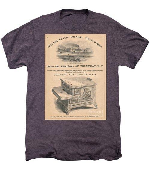 Spuyten Duyvil Stoveworks  Men's Premium T-Shirt by Cole Thompson