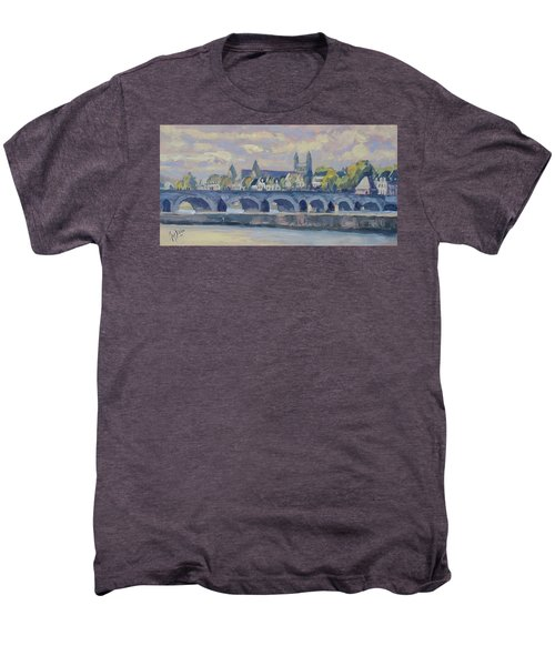 Summer Maas Bridge Maastricht Men's Premium T-Shirt